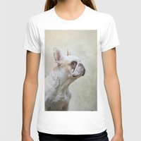 french bulldog T-shirts featuring French bulldog  by Pauline Fowler ( Polly470 )