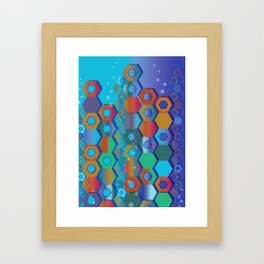 REEF 21 Framed Art Print