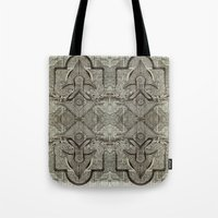 chakra Tote Bags featuring Second Chakra by Work the Angle