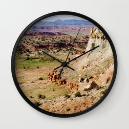 Painted Desert Valley Wall Clock