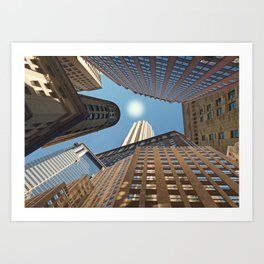 At its Zenith - New York Art Print