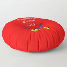 2016 Presidential Elecion Floor Pillow