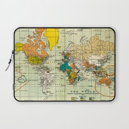 Map of the old world Laptop Sleeve