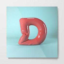 Inflatable 3D Type Metal Print