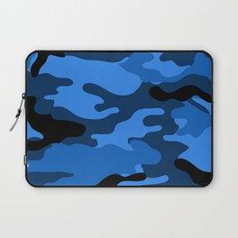Blue Camouflage Laptop Sleeve
