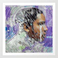 Tangled Mind Art Print