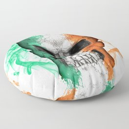 To The Core Collection: Ireland Floor Pillow