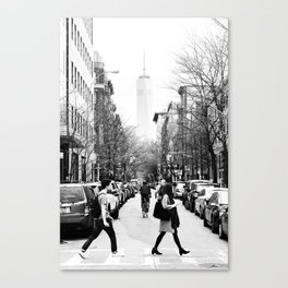 New York City Street Canvas Print
