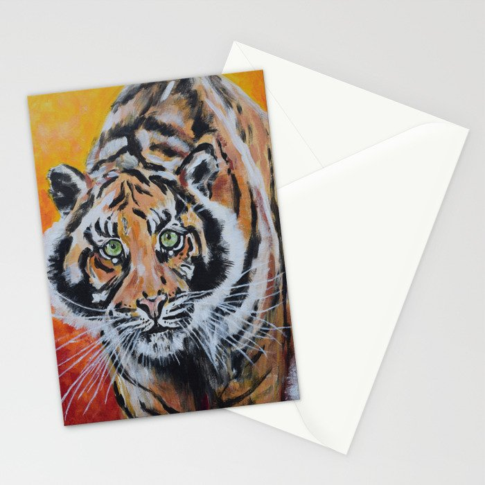 Tiger, Tiger Stationery Cards
