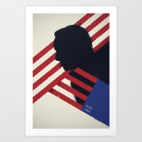 house of cards Art Prints featuring HOUSE of CARDS by Shujaat Syed