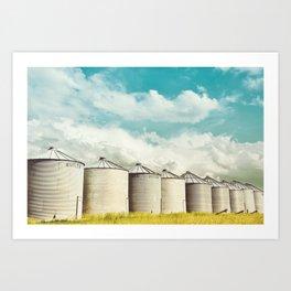 All in a Row Art Print