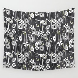 Midnight Garden (small repeat) Wall Tapestry