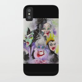 Abstract Villains iPhone Case