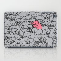 word iPad Cases featuring Word 2 the Herd v1 by Jonah Makes Artstuff