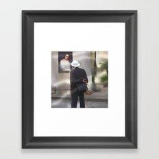 the art admirer Framed Art Print