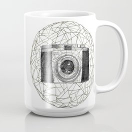 Geometric Camera Eye Coffee Mug