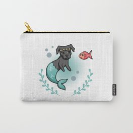 Mermaid Pit Bull Carry-All Pouch