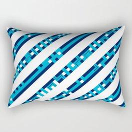 Artis 1.0, No.31 in Warm Blue Rectangular Pillow