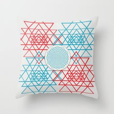 Geometrical 001  Throw Pillow