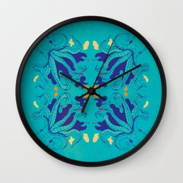 A Expedição do Biologista Artista -El P Wall Clock