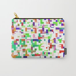 Blocked Up Carry-All Pouch