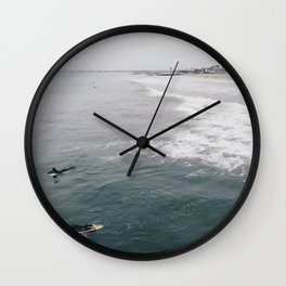 Beclouded Wall Clock