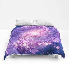Cosmic vacuum cleaner (Spiral Galaxy M83) Comforters