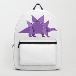 Origami Stegosaurus Backpack