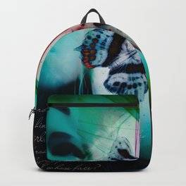 Butterflies in the twilight Backpack