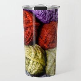 Balls of Yarn Travel Mug