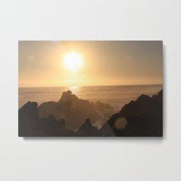 Sunset at Gordons Bay, South Africa Metal Print