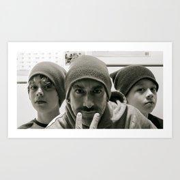 The Boyz Art Print