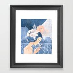 Sound of Sea Framed Art Print
