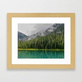 Lower Joffre Lake Framed Art Print