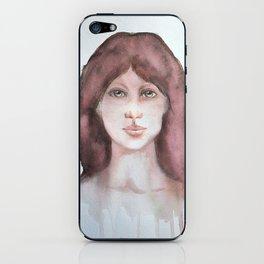 Watercolor smile iPhone Skin