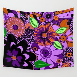 Flowers To Go Wall Tapestry