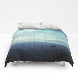 Vanishing Mountains Comforters