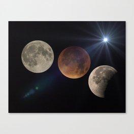 super moons Canvas Print