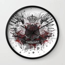 Cullenite Crest  Wall Clock