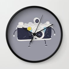 Old Skool Cam Wall Clock
