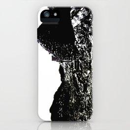 John Muir Shelter - linocut iPhone Case