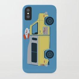Galactic Pizza Van iPhone Case