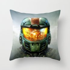 Halo Throw Pillow