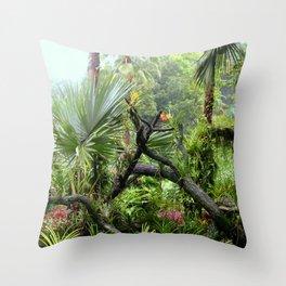 Singapore Botanical Garden 2 Throw Pillow