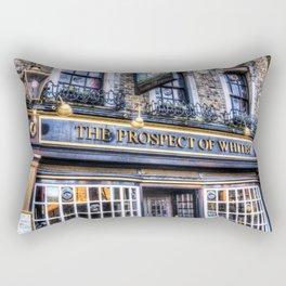 Prospect of Whitby Pub London 1520 Rectangular Pillow