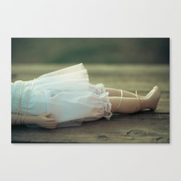 Alice's Escapades ~ Damsel in Distress Canvas Print