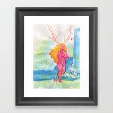 On the Nature of Spirits: Flora Framed Art Print