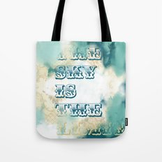 The Sky is the Limit Tote Bag