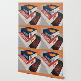 Fahrenheit 451, François Truffaut, minimal movie poster, french film, Ray Bradbury, book Wallpaper