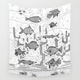 Diversity (underwater) Wall Tapestry